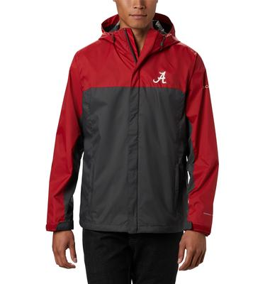 Alabama Columbia Men's Glennaker Storm Jacket - Big Sizing