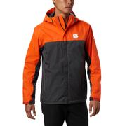 Clemson Columbia Men's Glennaker Storm Jacket - Tall Sizing