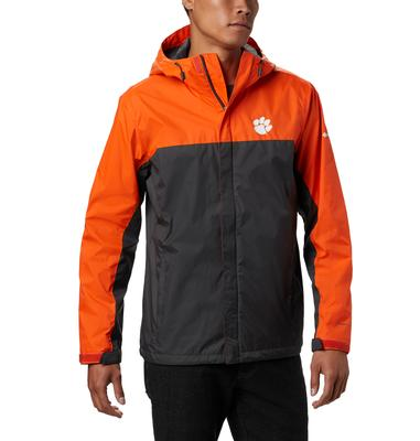 Clemson Columbia Men's Glennaker Storm Jacket - Big Sizing