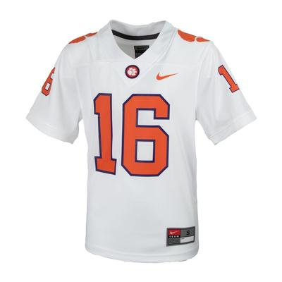 Clemson Nike Youth #16 Replica Football Jersey