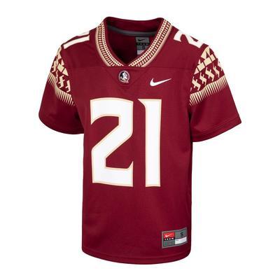 Florida State Nike Youth #21 Replica Football Jersey