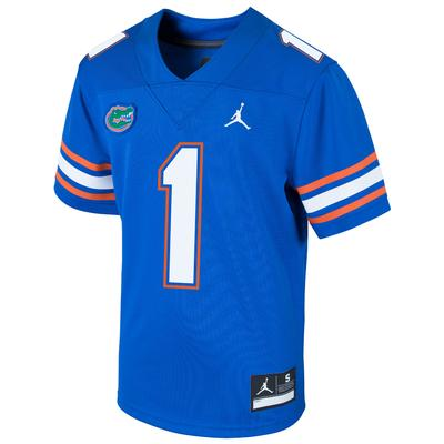 Florida Nike Jordan Brand Youth #1 Replica Football Jersey