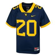 West Virginia Nike Youth # 20 Replica Football Jersey