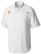 Tennessee Men's Columbia Tamiami Short Sleeve Shirt - Big Sizing