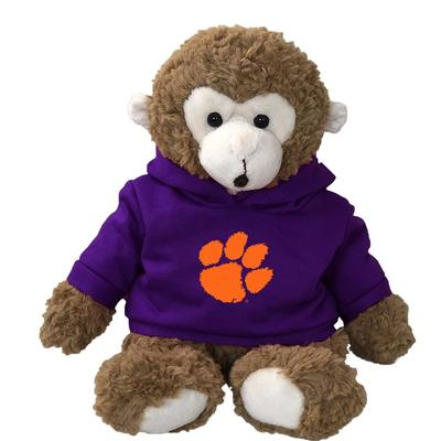 Clemson 13 inch Cuddle Buddie Plush Monkey