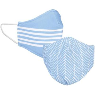 Sky Blue Reversible Face Mask