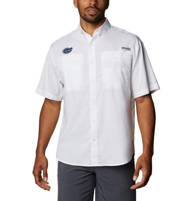 Florida Men's Columbia Tamiami Short Sleeve Shirt - Big Sizing