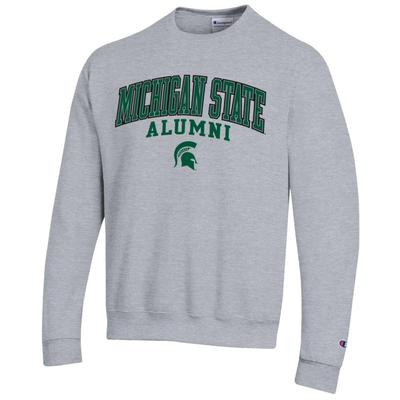 Michigan State Champion Fleece Screen Print Alumni Crew