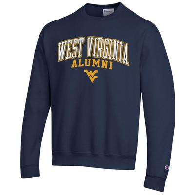 West Virginia Champion Fleece Screen Print Alumni Crew