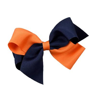 Navy & Orange Classic Fluff