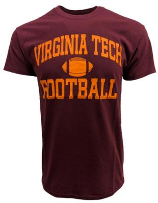 Virginia Tech Basic Football T-Shirt