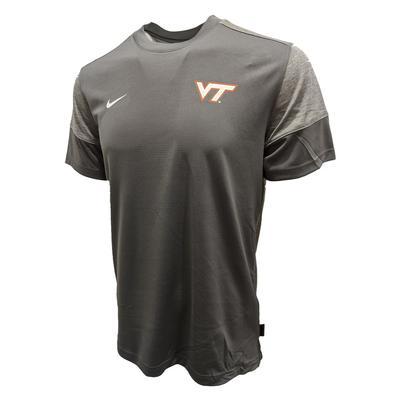 Virginia Tech Nike UV Dri-Fit Coaches Shirt