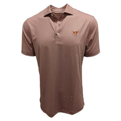 Virginia Tech Johnnie-O Brickyard Polo