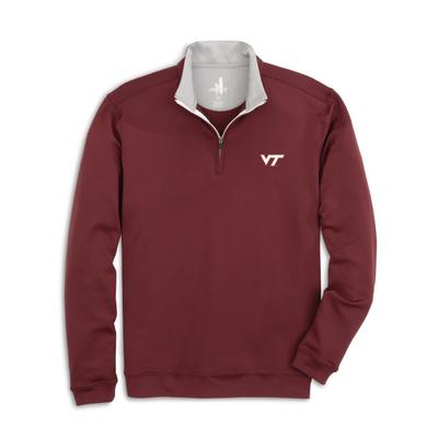Virginia Tech Johnnie-O Diaz 1/4 Zip