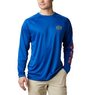 Florida Columbia Men's Terminal Tackle Long Sleeve Shirt - Tall Sizing