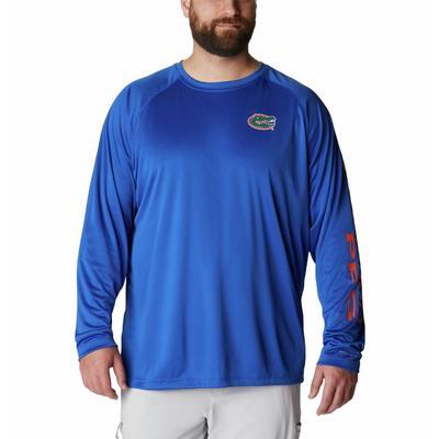 Florida Columbia Men's Terminal Tackle Long Sleeve Shirt - Big Sizing