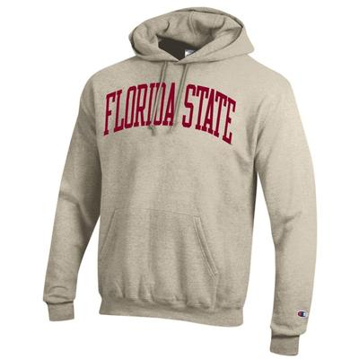Florida State Champion Fleece Screen Print Arch Hoodie