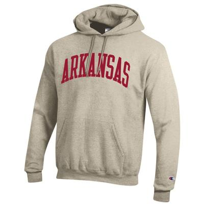 Arkansas Champion Fleece Screen Print Arch Hoodie