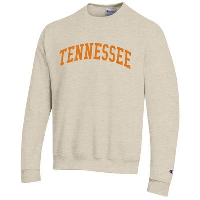 Tennessee Champion Fleece Screen Print Arch Crew