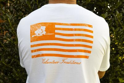 Tennessee Volunteer Traditions Rifleman Flag Pocket Tee