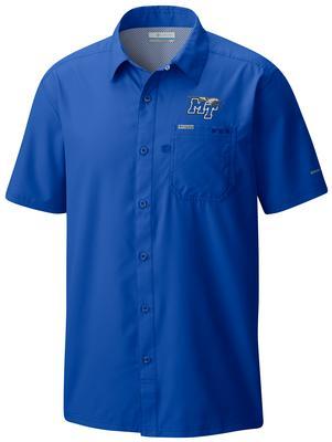 MTSU Men's Columbia Slack Tide Woven Shirt