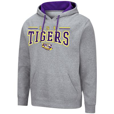 LSU Colosseum Men's Greys Rally Hoody