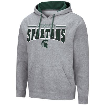 Michigan State Colosseum Men's Grey Rally Hoody