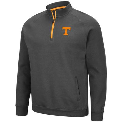 Tennessee Colosseum Men's Charcoal Rally 1/4 Zip Pullover