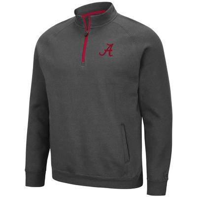Alabama Colosseum Men's Rally Charcoal 1/4 Zip Pullover
