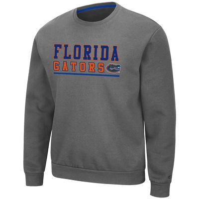 Florida Colosseum Men's Charcoal Rally Fleece Crewneck
