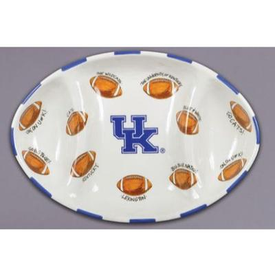 Kentucky Magnolia Lane Football Platter