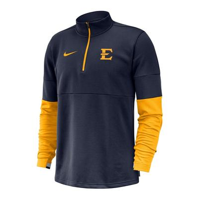 ETSU Nike Men's Coaches Half Zip Pullover
