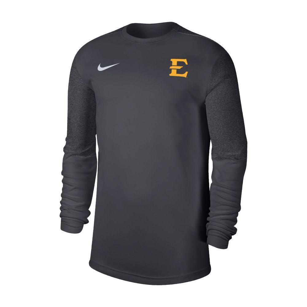 Etsu Nike Men's Coaches Uv Long Sleeve Top