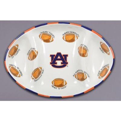 Auburn Magnolia Lane Football Platter