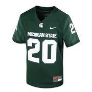 Michigan State Nike Kids # 20 Replica Football Jersey