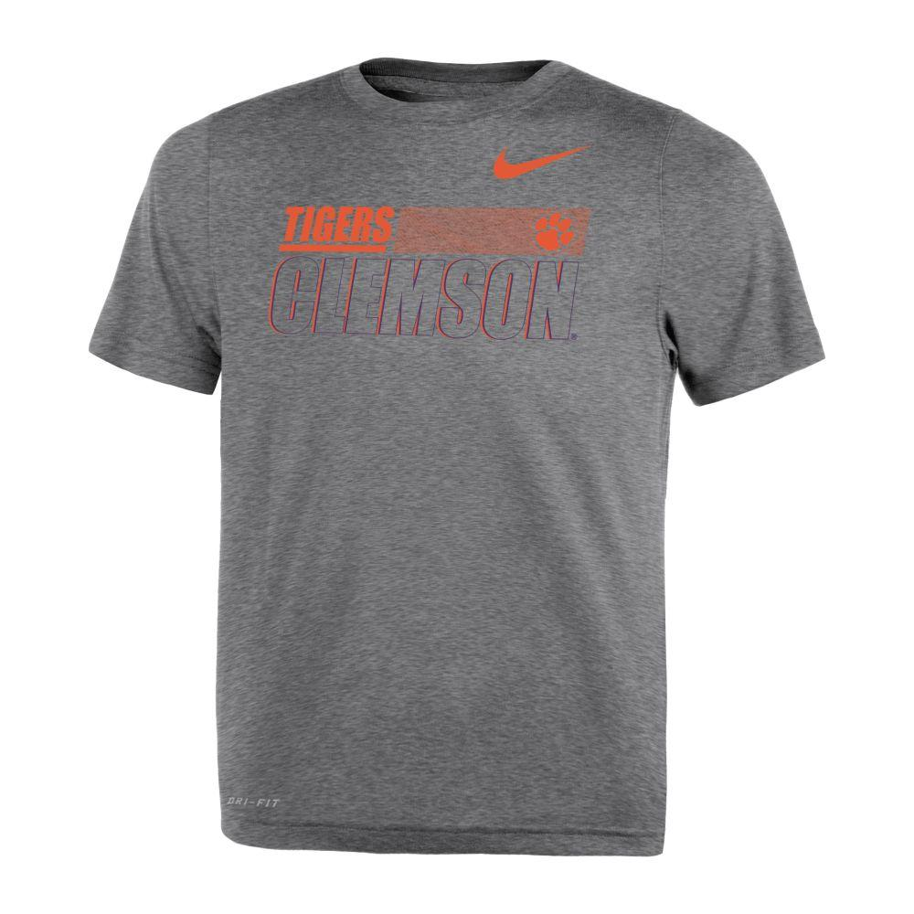 Clemson Nike Toddler Sideline Legend Dri- Fit Tee