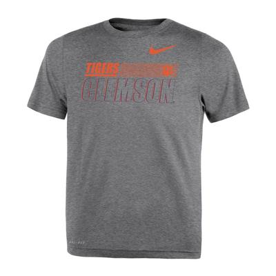 Clemson Nike Toddler Sideline Legend Dri-Fit Tee
