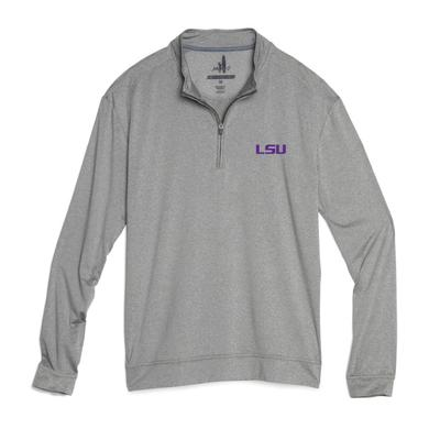 LSU Johnnie-O Men's Flex 1/4 Zip Pullover