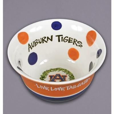 Auburn Magnolia Lane Live Love Tailgate Bowl