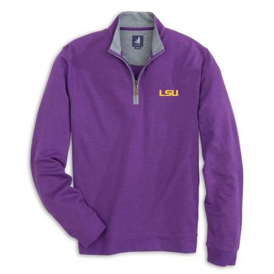 LSU Johnnie-O Men's Sully 1/4 Zip Pullover