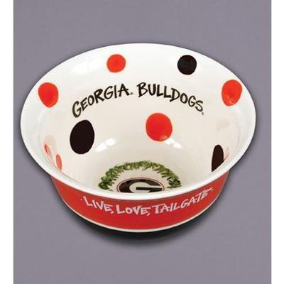 Georgia Magnolia Lane Live Love Tailgate Bowl