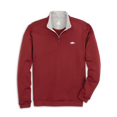 Arkansas Johnnie-O Men's Diaz 1/4 Zip Pullover