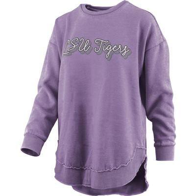 LSU Pressbox Go Girl Vintage Wash Sweater