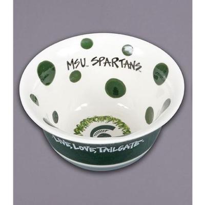 Michigan State Magnolia Lane Live Love Tailgate Bowl