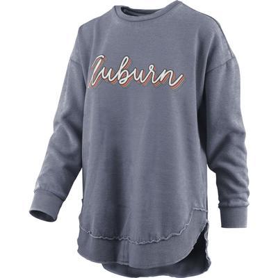 Auburn Pressbox Go Girl Vintage Wash Sweater