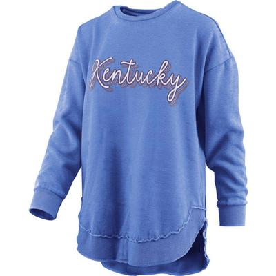 Kentucky Pressbox Go Girl Vintage Wash Sweatshirt