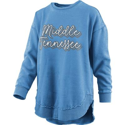 MTSU Pressbox Go Girl Vintage Wash Sweater