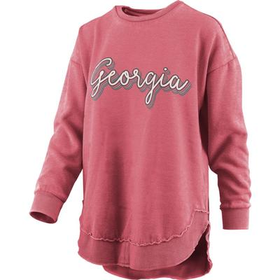 Georgia Pressbox Go Girl Vintage Wash Sweater