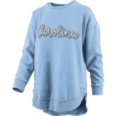 UNC Pressbox Go Girl Vintage Wash Sweater