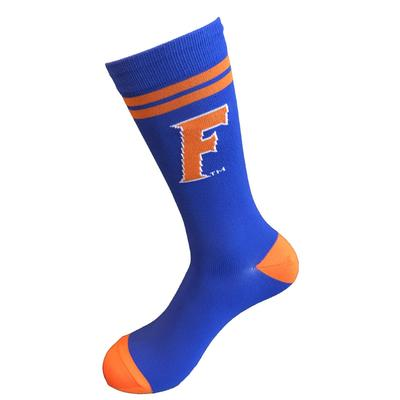 Florida Strideline F Logo Crew Sock